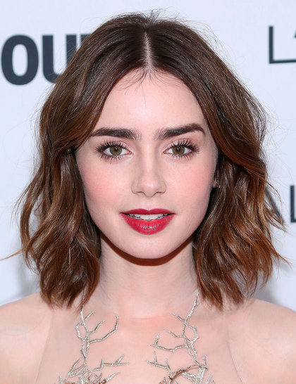 lily collins eye brows