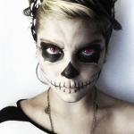 Maquillaje de Calavera Halloween – Tutorial