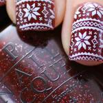 15 diseños navideños para tus uñas