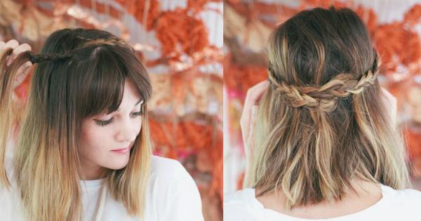 5 Peinados Para Cabello Corto - Peinados-par-cabello-corto