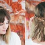 5 peinados para cabello corto