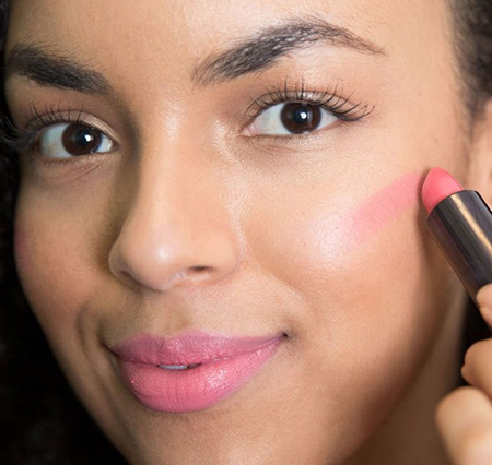 lipstick blush