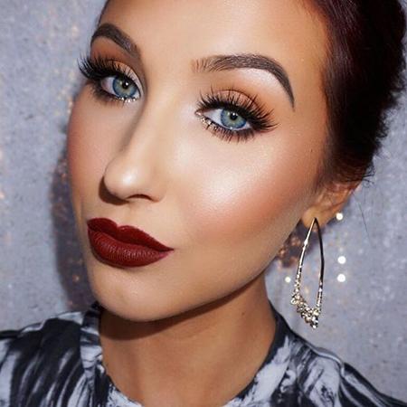 maquillaje bronzed noche