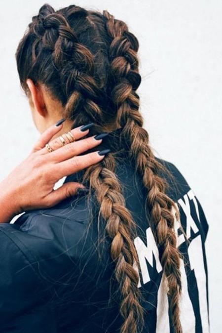boxer braids ideas de peinados rapidos