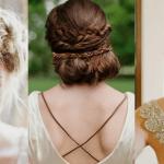 6 peinados de novia recogidos