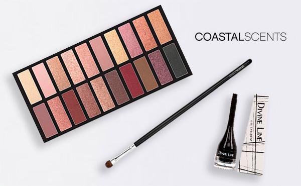 maquillaje de ojos de Coastal Scents