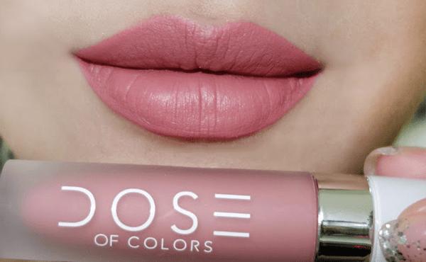 lipstick truffle mate de Dose of Colores para makeup natural