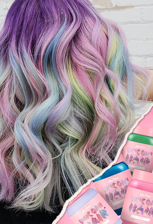 tintes de cabello Unicorn Hair: Anime de Lime Crime