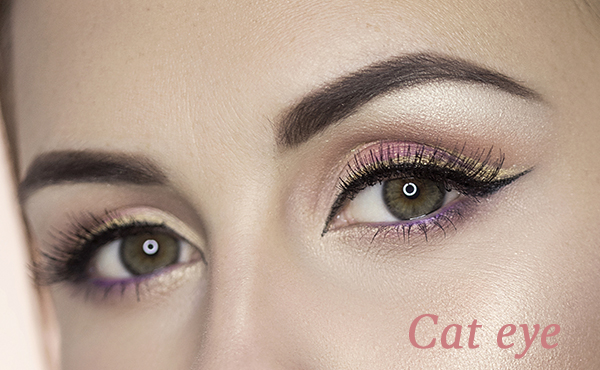 delineadores de ojos para lograr el efecto cat eye