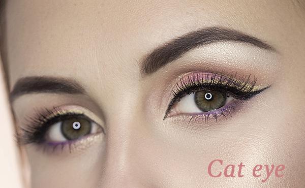 Complementa tu maquillaje de noche con un delineado cat eye