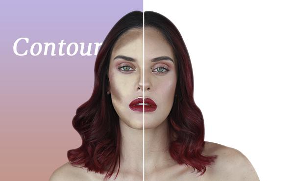 Perfila tu rostro usando contour