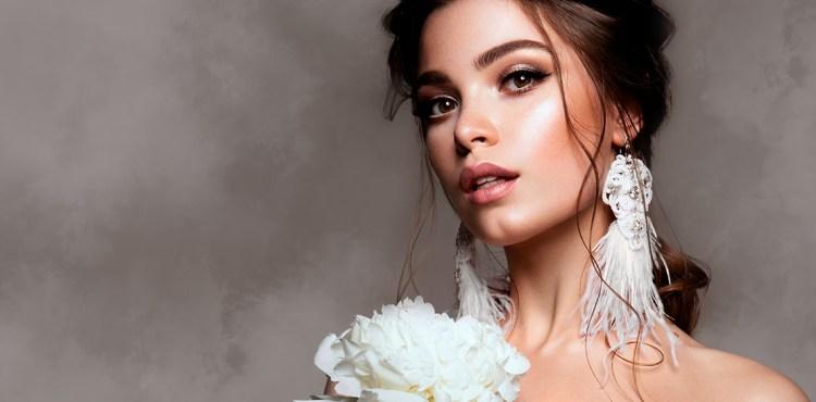 Maquillaje de novia para piel morena