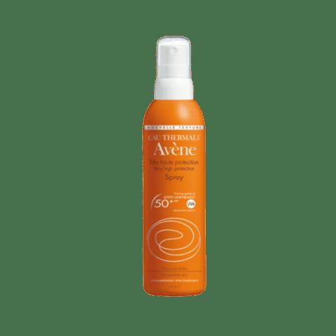 bloqueador solar en spray para el cuidado de la piel