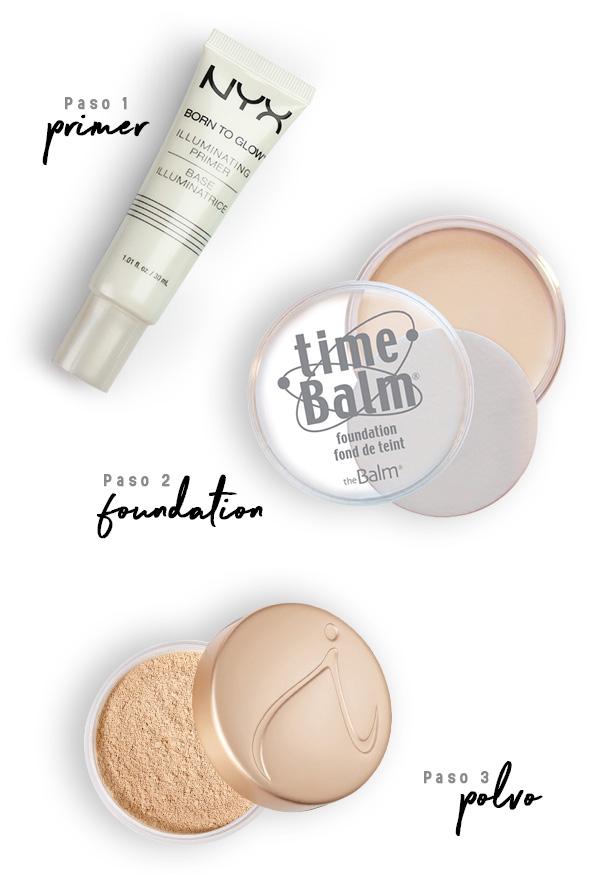 Pasos para aplicar el primer y tener un maquillaje perfecto