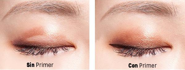 Usa primer de ojos para que tus sombras duren todo el día