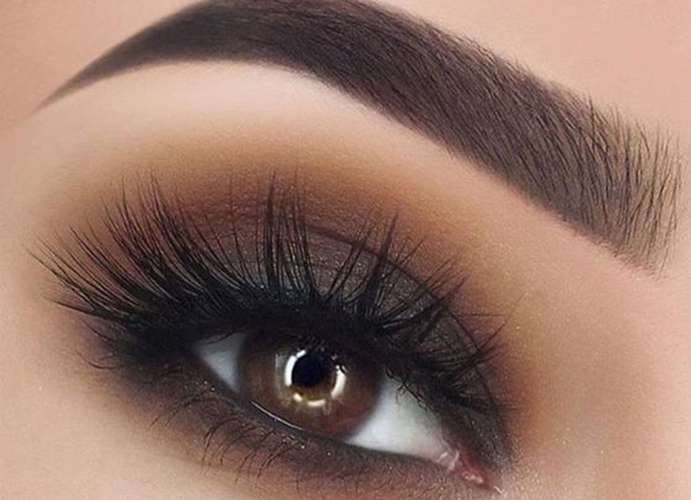 Maquillaje de ojos difuminado