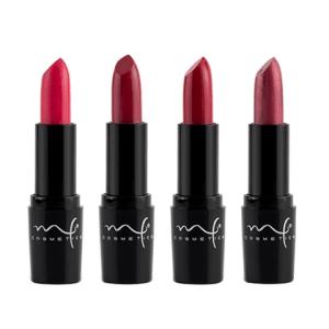 labiales en tonos rojos
