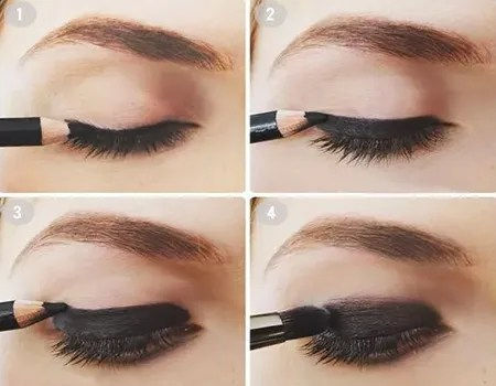tutorial de maquillaje de ojos para difuminar el delineador