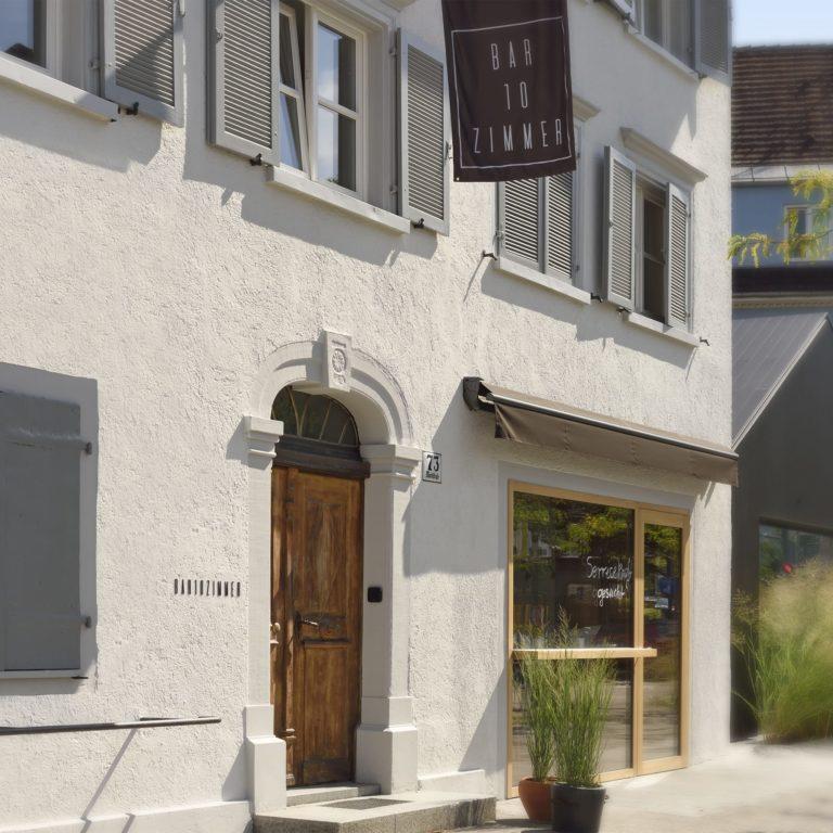 Urlaub und Architektur  BAR10ZIMMER Dornbirn Vorarlberg