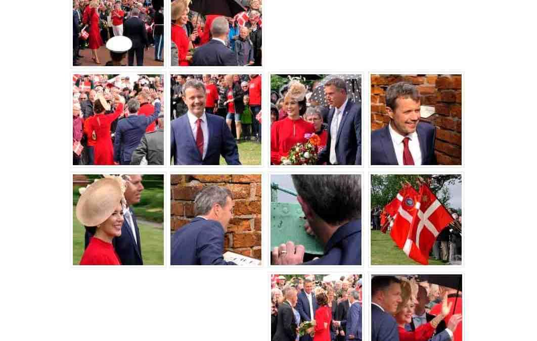Se billeder fra Kronprinsparrets besøg i Vordingborg d. 15. juni 2019