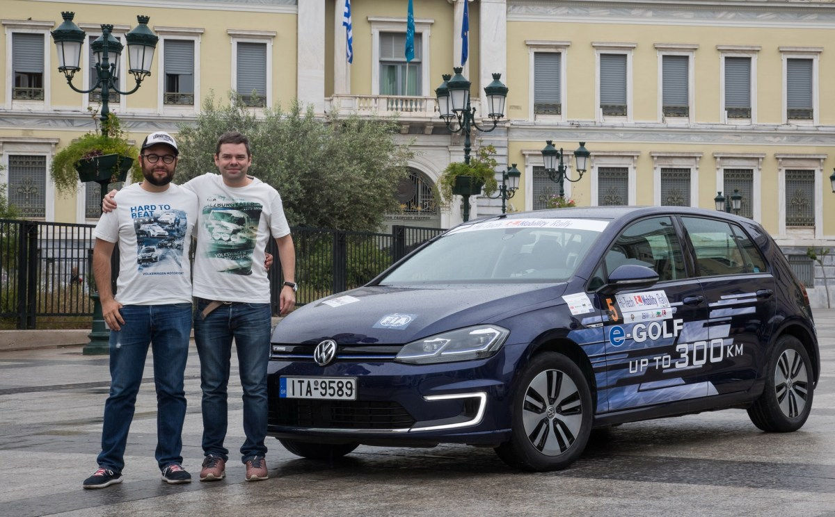 HI-TECH EKO MOBILITY RALLY 2019_ADRIEN DA CUNHA BELVES-ALEX STRICHER-VOLKSWAGEN E-GOLF