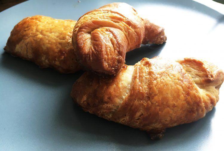 Hjemmebagte croissanter