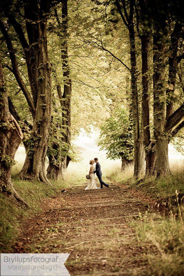 Bryllupsbilleder fra hele bryllupsdagen - kendt Bryllupsfotograf