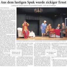 """RNZ-Artikel vom 5.April 2016 zum """"Vorhang auf"""" - Theater im Philipp-Melanchthon-Haus"""