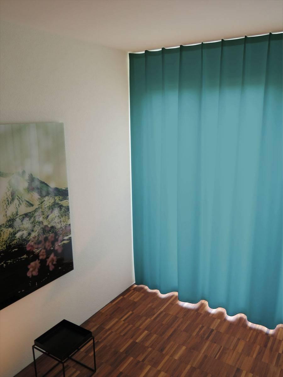 Vorhang Dunkelblau Stunning Ikea Vorhang Dunkelblau Feines Glnzendes Material With Vorhang