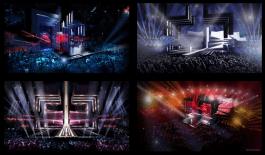 Decor Eurovisie Songfestival 2016 door Frida Arvidsson en Viktor Brattström. Bron: fridaarvidsson.com
