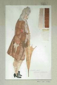 Kostuumontwerp voor de graaf van Rocca Marina uit De Waaier (Haagse Comedie, 1977). Ontwerp Hans Christiaan. Bron: Marjolein Sligte