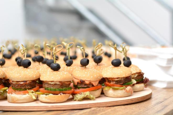 Blogger Club gofeminin Food Miniburger