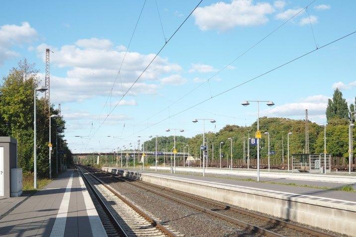 Blogger unterwegs Bahnhof Lifestyle Blog Hannover