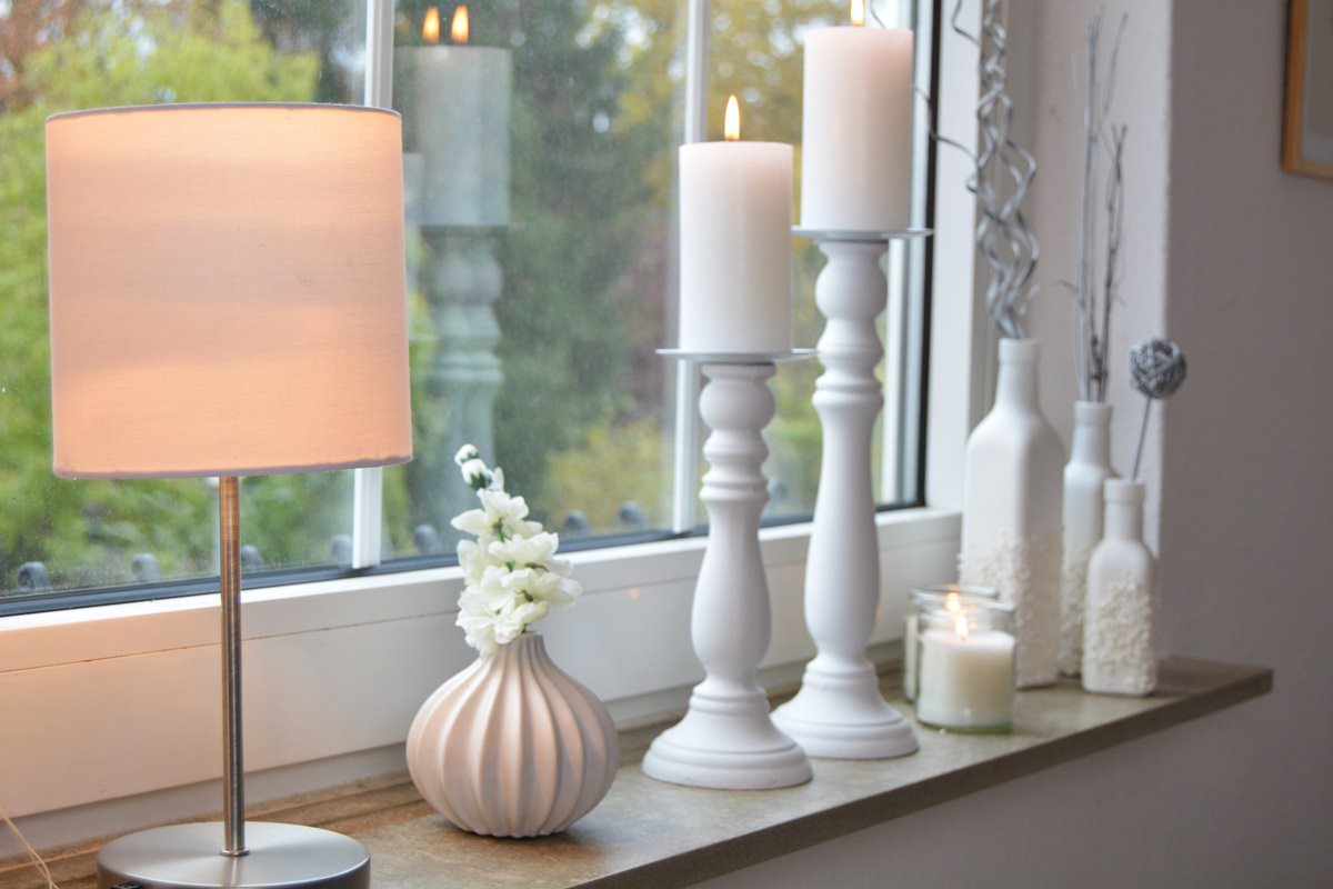 Dekoration Wohnzimmer Fenster