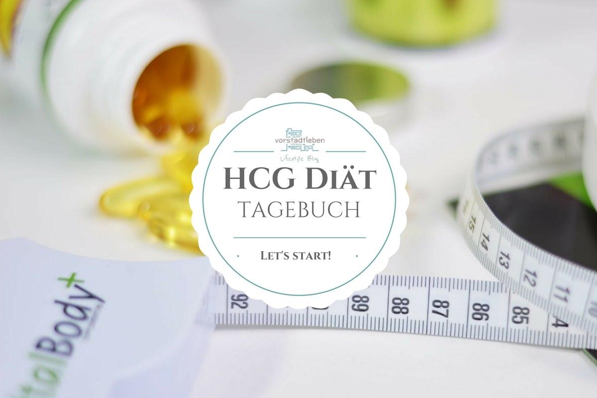 Let's start! hCG Diät Tagebuch - mein Weg durch die 21 Tage Stoffwechselkur