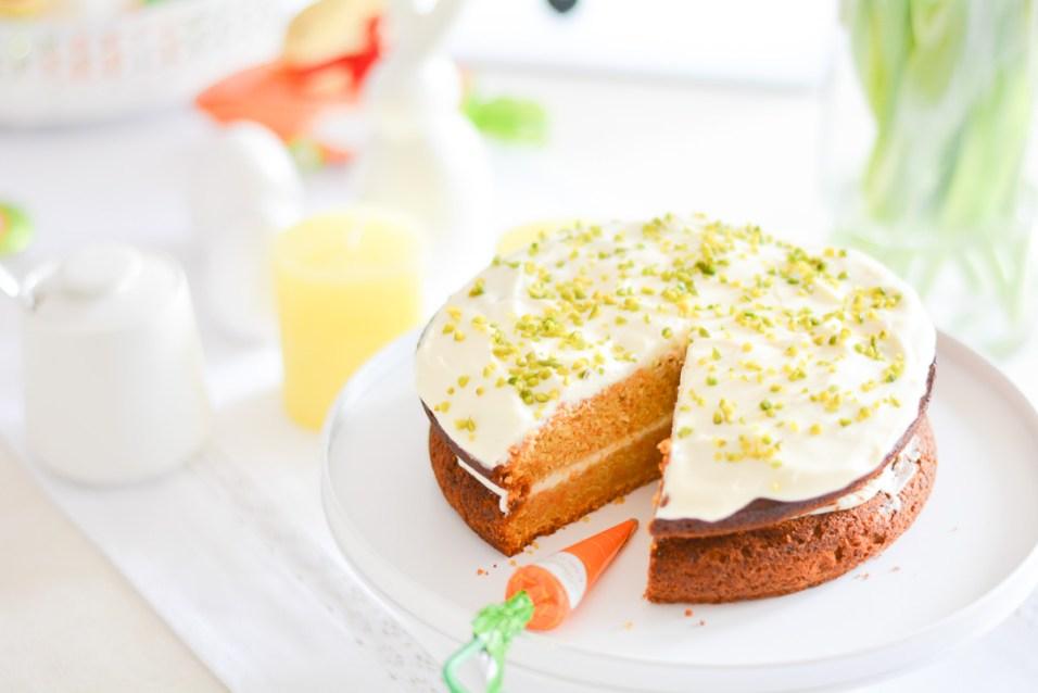 Rueblitorte Carrrot Cake Rezept Vorstadtleben Lifestyle Blog