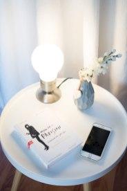 Beistelltisch Butlers Tischlampe Dekoration