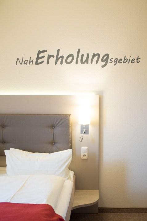 Hermes Hotel Oldenburg Naherholungsgebiet Schlafzimmer