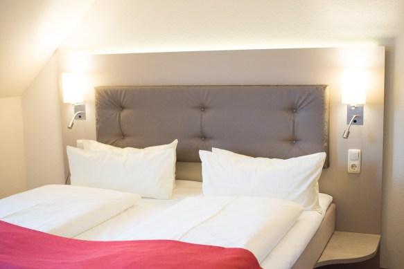 Schlafzimmer Hermes Hotel Oldenburg