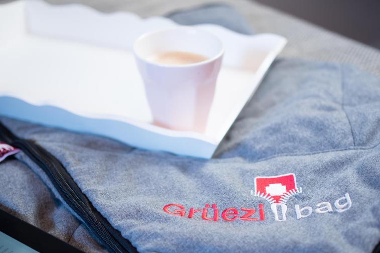 wellhealthblanket Decke Wohntextilien Gruezi bag