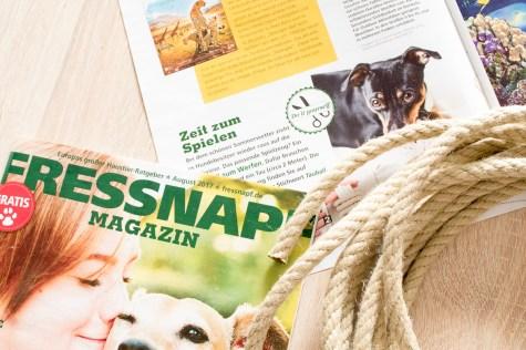 Fressnapf Magazin Zeit zum Spielen DIY