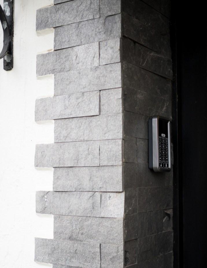 Eingang ABUS Funktastatur HomeTec Pro