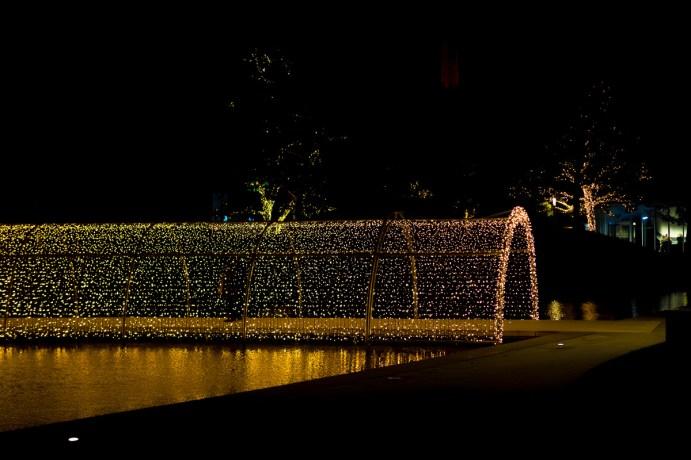 autostadt zauberhafte winterwelt lichtertunnel