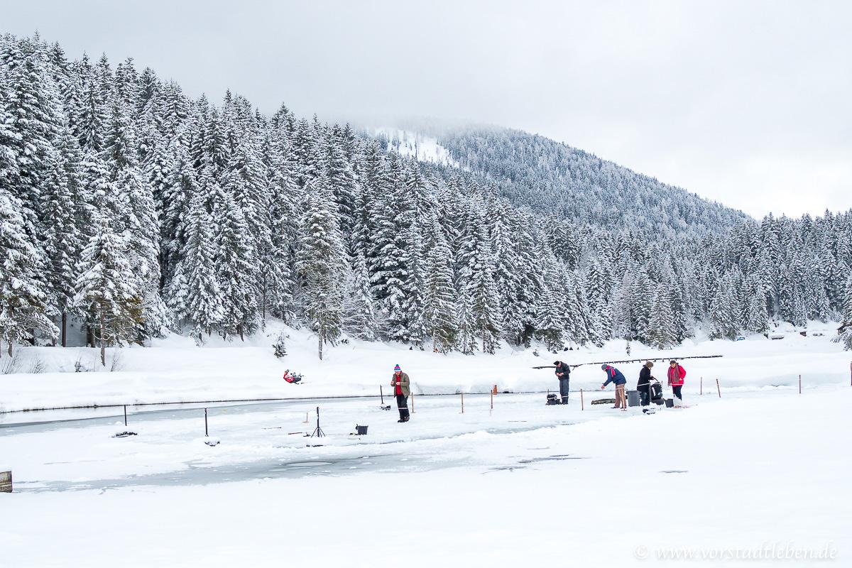 weidachsee angeln im winter forellen