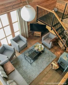wohnbereich chalet im weidach ferienhaus