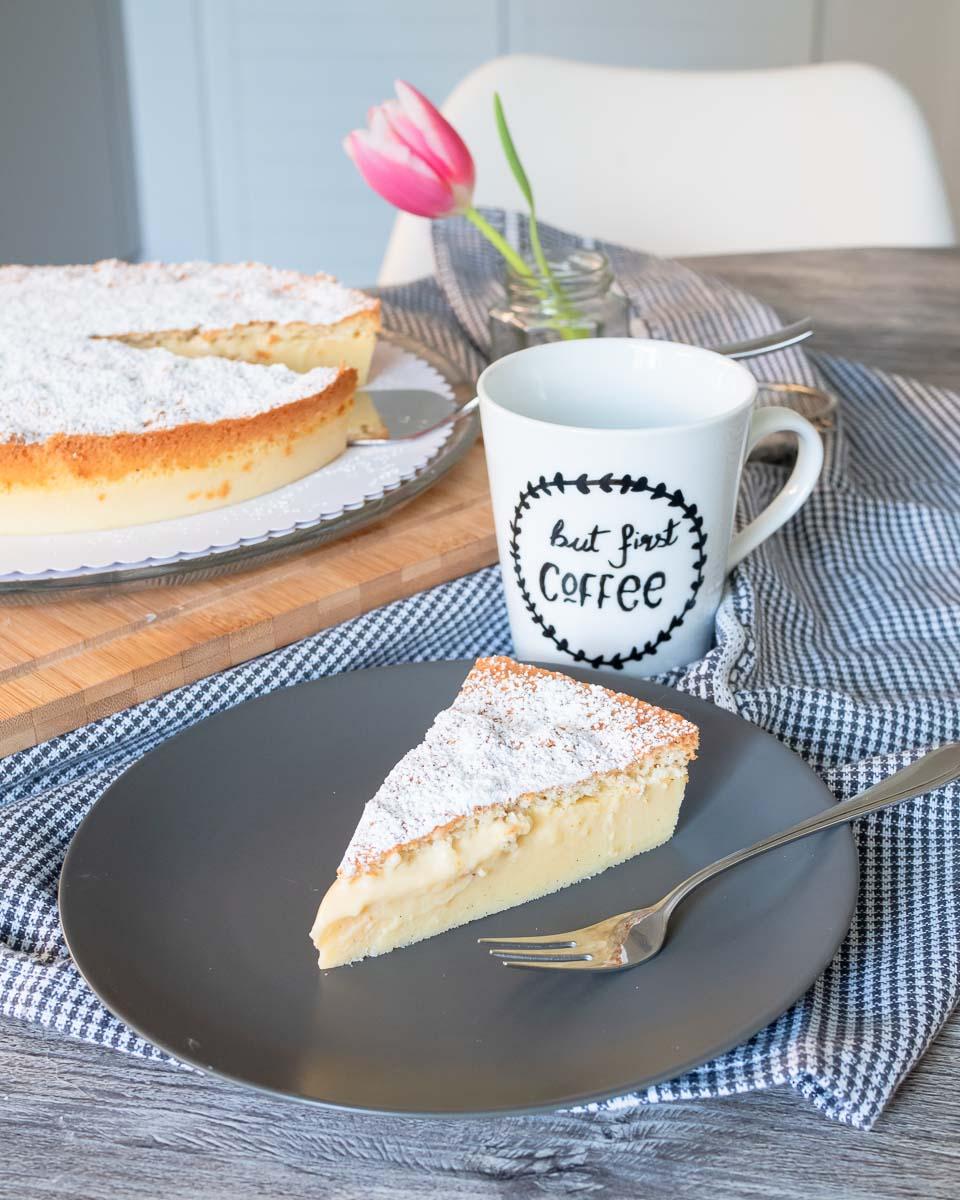 vanillekuchen zauberkuchen rezept ein teig drei schichten