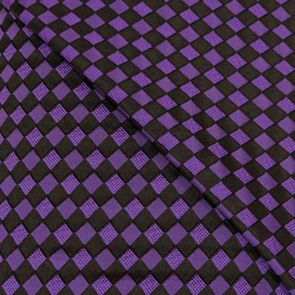 57.08615.027 Jacquard Blok Diagonaal paars