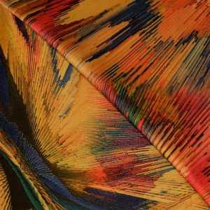 57.05403.058 Soft Velvet Coloured Lines oker