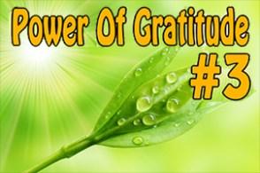 Power Of Gratitude 3