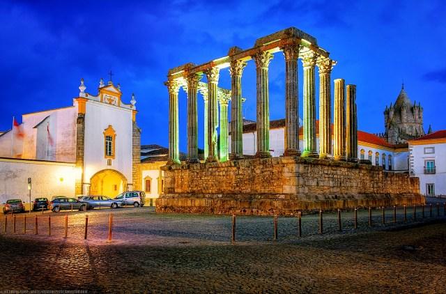 Templo Romano de Évora - Joe Price